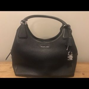 MICHAEL KORS Camille  Large Leather Handbag